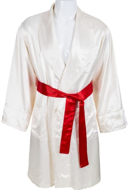 """89195: A Boxing Robe from """"Rocky IV"""" United Artists, 19"""
