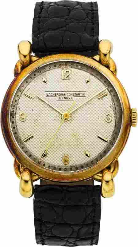 89452: Vacheron & Constantin Unique Vintage Gold Wristw