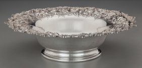 An S. Kirk & Son Silver Repoussé Bowl, Baltimore