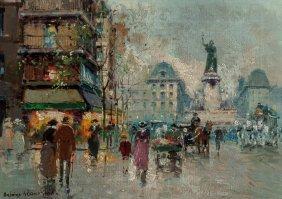 Antoine Blanchard (french, 1910-1988) Place De L
