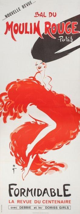Rene Gruau (italian, 1910-2004) New Revue, Bal A