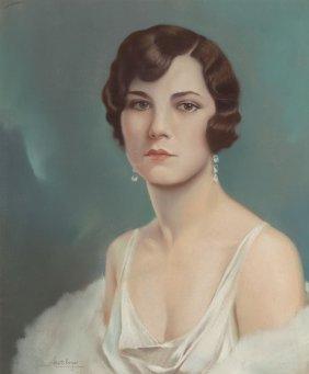 Alberto Vargas (american, 1896-1982) Portrait Of