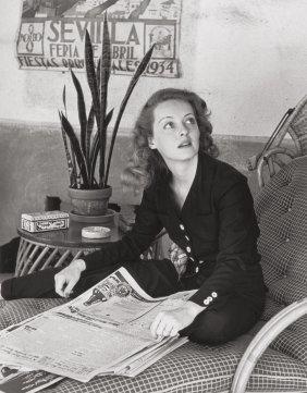 Alfred Eisenstaedt (american, 1898-1995) Bette D