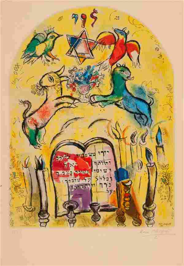 Marc Chagall (French/Russian, 1887-1985) The Tri
