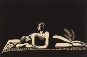 Rockwell Kent (american, 1882-1971) The Lovers,