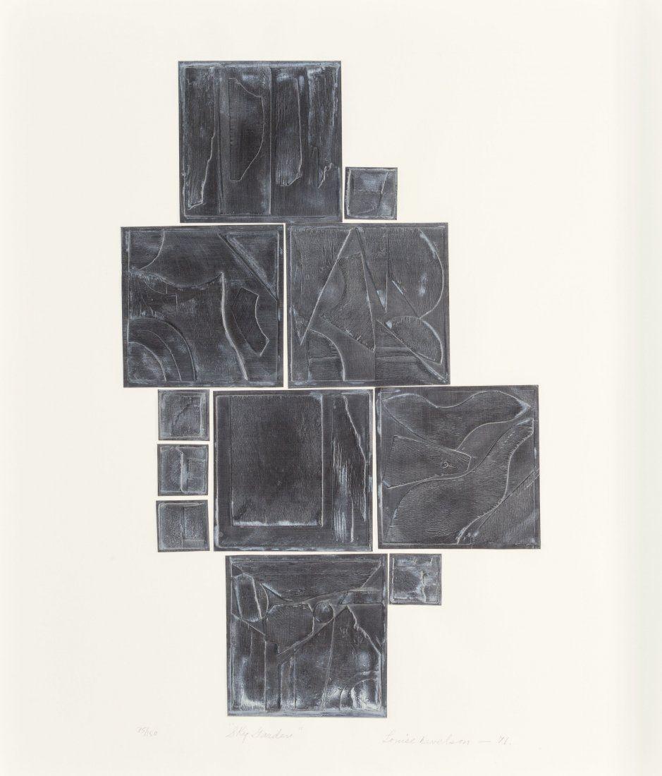 65479: Louise Nevelson (American, 1899-1988) Sky Garden