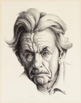 Thomas Hart Benton (american, 1889-1975) Self-po
