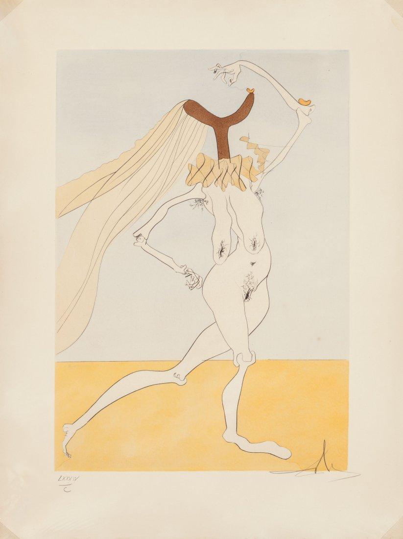 65483: Salvador Dalí (Spanish, 1904-1989) Quevedos Visi