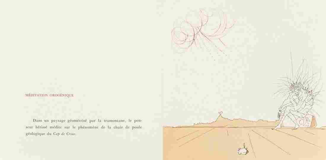 65484: Salvador Dalí (Spanish, 1904-1989) Neuf Paysages