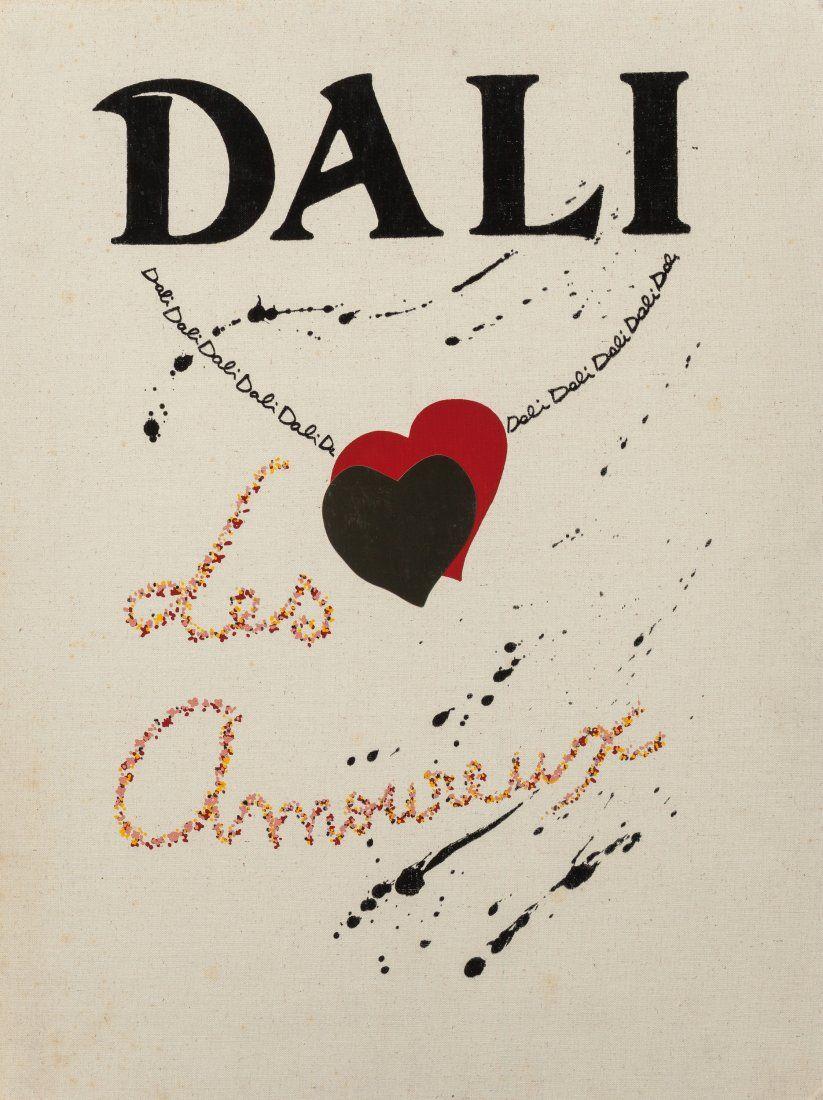 65485: Salvador Dalí (Spanish, 1904-1989) Les Amoureux
