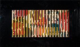 Yaacov Agam (israeli, B. 1928) Untitled Lithogra