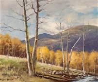 65591: Robert William Wood (American, 1889-1979) Aspens