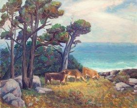 Horatio Nelson Poole (american, 1884-1949) Pasto