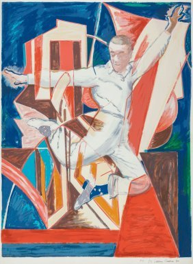 Larry Rivers (american, 1925-2002) Astaire In Th
