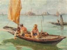 65699: Angelo Brombo (Italian, 1893-1962) Young Venetia