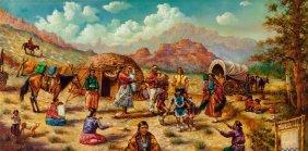 Alfredo Rodriguez (american, B. 1954) Camp Oil O