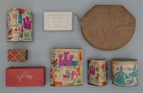 Eight Various Boxed Perfumes And Compacts, Circa