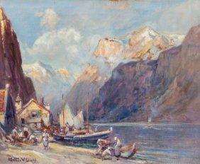 Arthur Vidal Diehl (american, 1870-1929) Norwegi