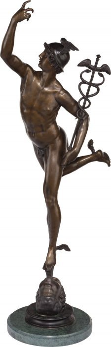 After Giambologna (flemish, 1529-1608) Mercury B
