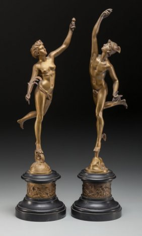 After Giambologna (flemish, 1529-1608) Mercury A