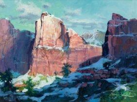 James Coleman (american, B. 1949) Zion Snow, 199