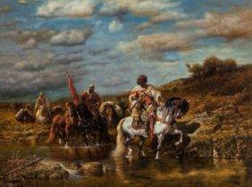 Manner Of Adolf Schreyer Returning Raiders Repro