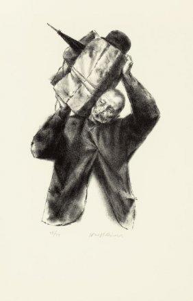 Joseph Hirsch (american, 1910-1981) Voyager Lith