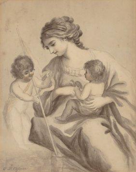Manner Of Giovanni Battista Cipriani The Virgin