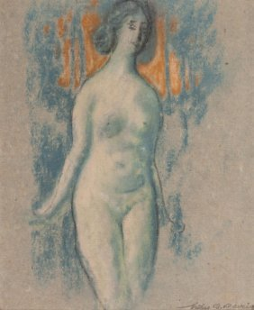 Arthur Bowen Davies (american, 1862-1928) Blue N