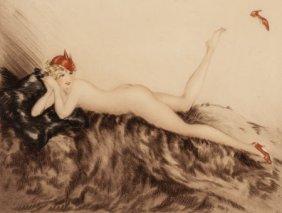 Louis Icart (french, 1888-1950) Hoopla, 1935 Etc
