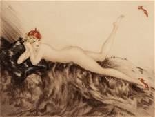 66401: Louis Icart (French, 1888-1950) Hoopla, 1935 Etc