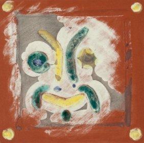 Pablo Picasso (spanish, 1881-1973) Masque Rieur,