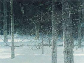 Robert Mclellan Bateman (canadian, B. 1930) Grou