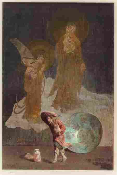 Hovsep Pushman (American, 1877-1966) Eternal Com