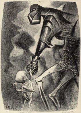 William Gropper (american, 1897-1977) The Capric