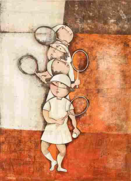 Alvar Munoz-Ramos (Spanish/French, b. 1935) and