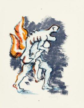 Jacques Lipchitz (french, 1891-1973) Untitled, F