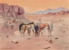 66500: Leonard Howard Reedy (American, 1899-1956) Wild