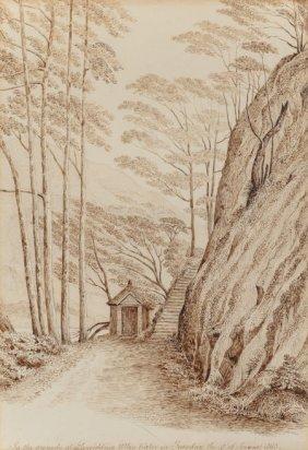 George Gilbert Scott (british, 1811-1878) Landsc