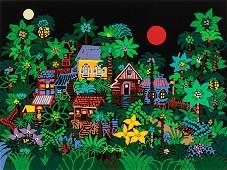 66529: Edward Sokol (American, b. 1945) Homes Around th