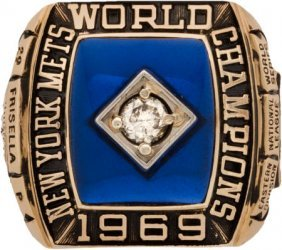1969 New York Mets World Series Championship Rin