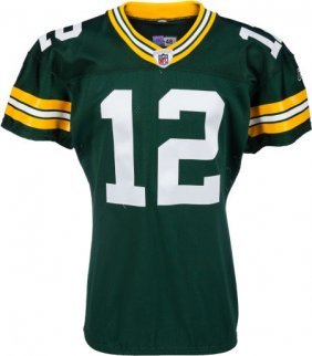 2011 Aaron Rodgers Game Worn, Unwashed Green Bay