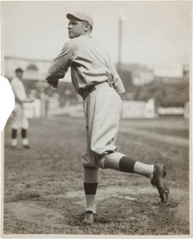 Circa 1918 Babe Ruth Original News Photograph By