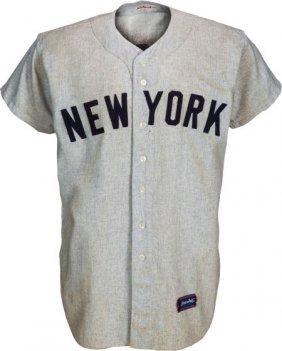 1962 Bobby Richardson Game Worn New York Yankees