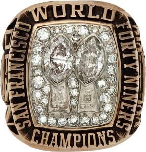 80065: 1985 San Francisco 49ers Super Bowl XIX Champion