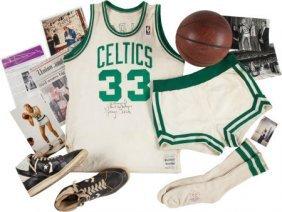 1986-87 Larry Bird Game Worn Boston Celtics Unif