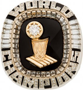 2006 Miami Heat Nba Championship Ring Presented