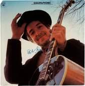 89379 Bob Dylan Signed Nashville Skyline Quadraphonic