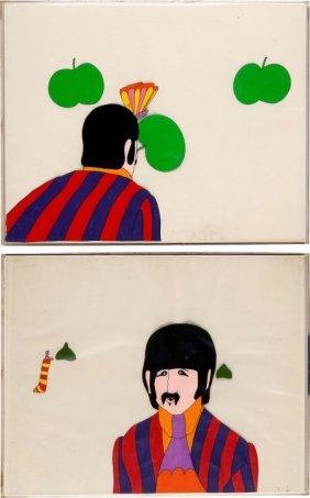 Beatles - Set Of Two Ringo Animation Cel Set-ups