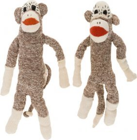 "A Pair Of Sock Monkey Dolls From ""twin Peaks."" A"